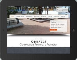 Obrassi - Nueva web ipad