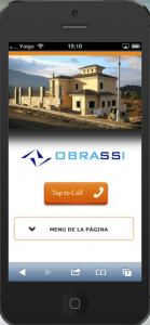 Obrassi - Nueva web iphone